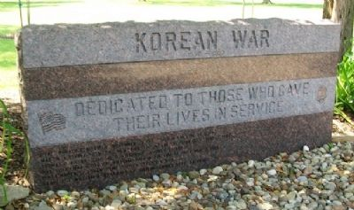 North Olmsted Veterans Plaza Korea Memorial image. Click for full size.