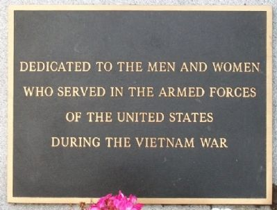 Twinsburg Vietnam War Memorial Marker image. Click for full size.