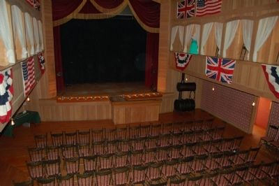 Palace Grand Theatre's stage. image. Click for full size.