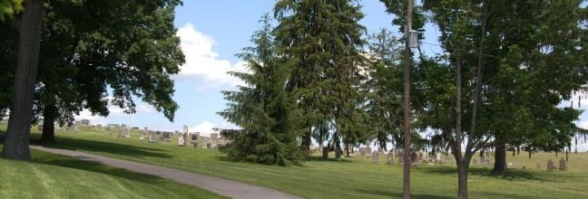 St. John's Lutheran Church Cemetery image. Click for full size.