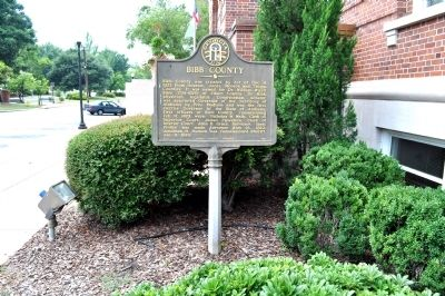 Bibb County Marker image. Click for full size.