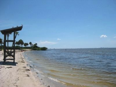 Shores of Tampa Bay at E. G. Simmons Park image. Click for full size.