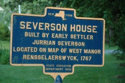 Severson House Marker image. Click for full size.