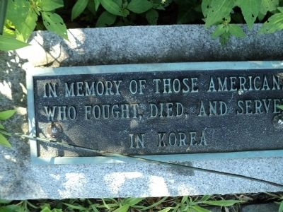 Korea Marker image. Click for full size.