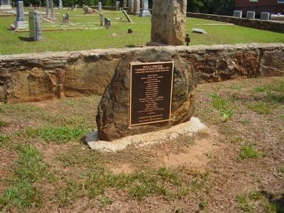 Holly Springs Marker image. Click for full size.