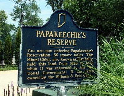 Papakeechie's Reserve Marker image. Click for full size.