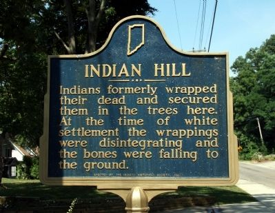 Indian Hill Marker image. Click for full size.