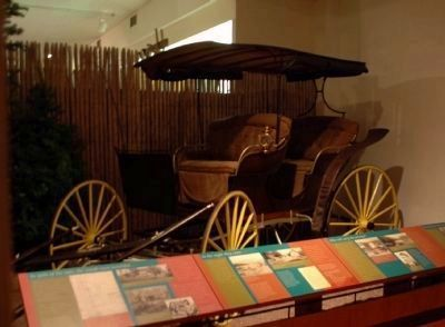 Mike Cronin's Carriage in the Collection of the Adirondack Museum image. Click for full size.