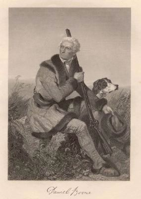 Daniel Boone (1734–1820) image. Click for full size.