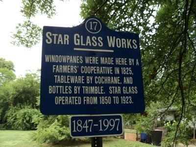 Star Glass Works Marker image. Click for full size.