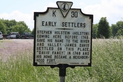 Early Settlers Marker image. Click for full size.