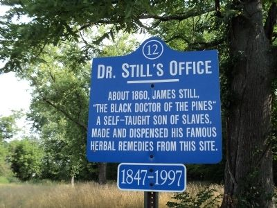 Dr. Still's Office Marker image. Click for full size.