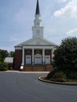Holly Springs Baptist Church image. Click for full size.