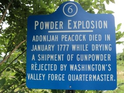Powder Explosion Marker image. Click for full size.