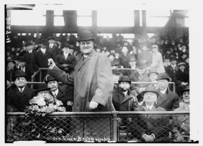 Pennsylvania Governor John K. Tener at Ebbets Field on April 14, 1914 image. Click for full size.