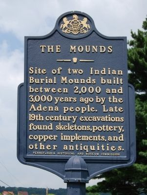 The Mounds Marker image. Click for full size.