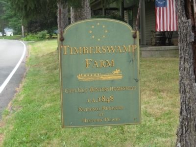 Timberswamp Farm Marker image. Click for full size.