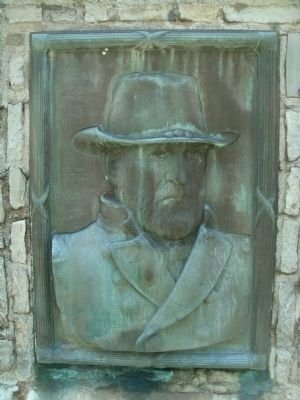 Ulysses Simpson Grant Relief Bust image. Click for full size.