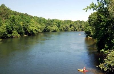 Saluda River<br>Looking Northwest image. Click for full size.