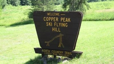 Copper Peak Ski Flying Hill image. Click for full size.
