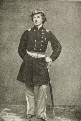 Col. Elmer E. Ellsworth, 11th New York Fire Zouaves (1861) image. Click for full size.