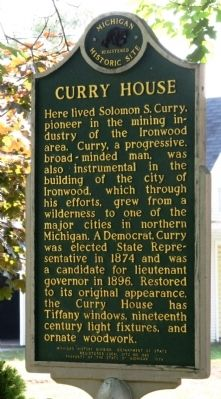 Curry House Marker image. Click for full size.