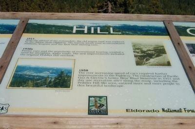 Peddler Hill Overlook Marker, Panel 2. image. Click for full size.