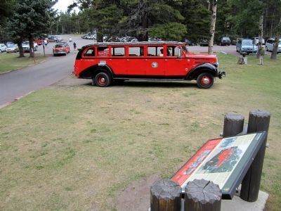 One of Glacier National Park's Red Buses image. Click for full size.