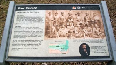 Kaw Mission Marker image. Click for full size.