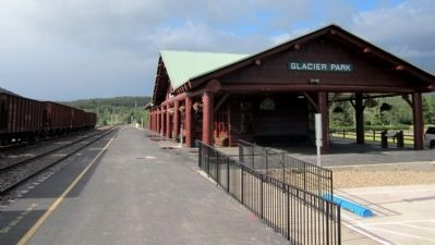 East Glacier Park Station (GPK) image. Click for full size.