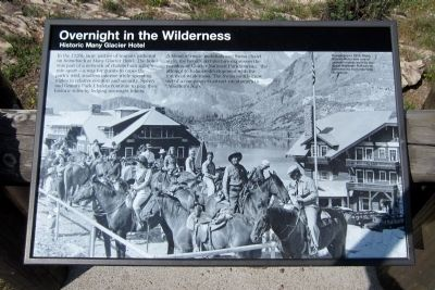 Overnight in the Wilderness Marker image. Click for full size.