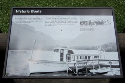 Historic Boats Marker image. Click for full size.