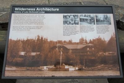 Wilderness Architecture Marker image. Click for full size.