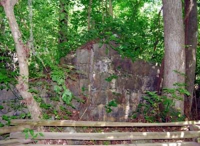 Saluda Factory Ruins image. Click for full size.