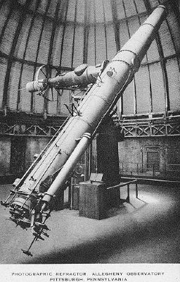 The Allegheny Observatory's 30 inch Thaw Telescope image. Click for full size.