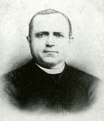 Reverend Joseph Strub, founder of the Pittsburgh Catholic College image. Click for full size.