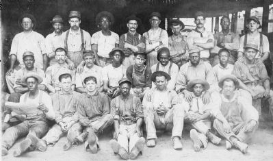 Ironworkers, Robesonia Iron Company, Robesonia, PA image. Click for full size.