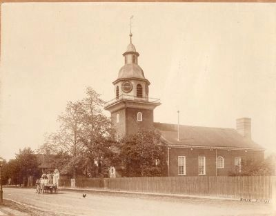 The Harmonist Church, Economy, PA image. Click for full size.