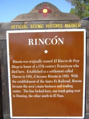 Rincón Marker image. Click for full size.