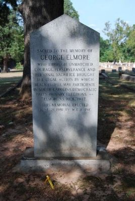 George Elmore Marker image. Click for full size.