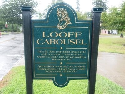 Looff Carousel Marker image. Click for full size.