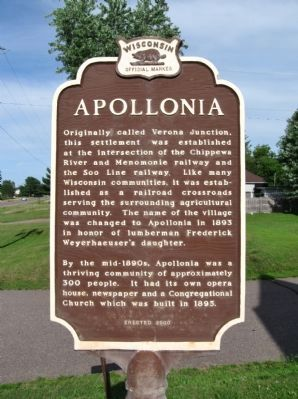 Apollonia Marker image. Click for full size.