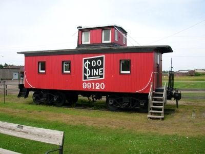Soo Line Caboose image. Click for full size.