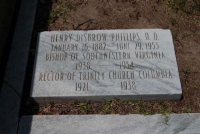 Henry Disbrow Phillips, D.D. Tombstone image. Click for full size.