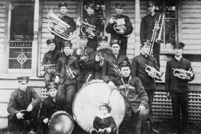 The Penfield Town Band image. Click for full size.