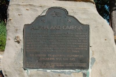 Alpha and Omega Marker image. Click for full size.