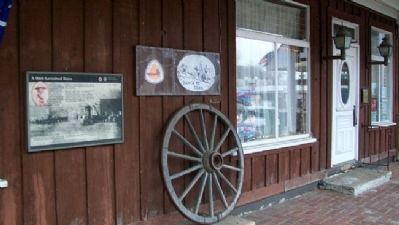 A Well-furnished Store Marker image, Touch for more information