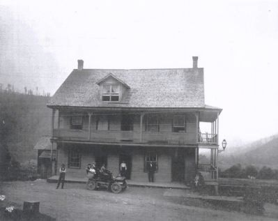 The Oleana Hotel, Potter County, PA image. Click for full size.