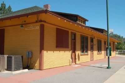 Colfax Passenger Depot image. Click for full size.
