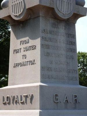 G.A.R.-W.R.C. memorial Marker image. Click for full size.